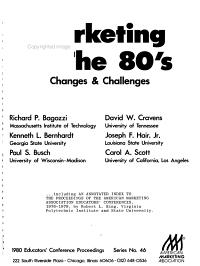 Marketing in the 80 s PDF