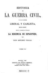 Historia de La Guerra Civil,