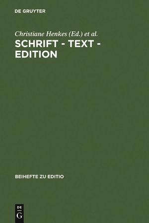 Schrift   Text   Edition PDF