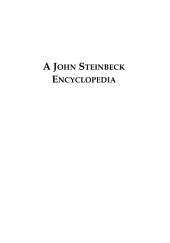 A John Steinbeck Encyclopedia