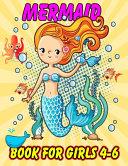 Mermaid Book For Girls 4 6