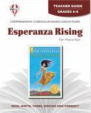 Esperanza Rising Novel Units Teacher Guide