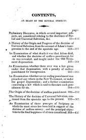 A history of the origin and progress of the doctrine of Universal salvation: also the final reconciliation of all men to holiness and happiness, fully and clearly proved from Scripture, reason, and common sense ...