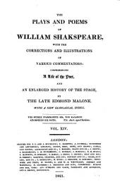 The Plays and Poems of William Shakspeare: Volume 14