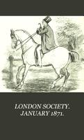LONDON SOCIETY  JANUARY 1871  PDF