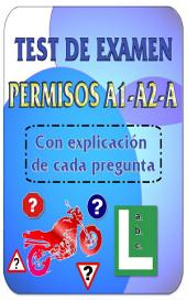 Test de examen de conducir DGT Permisos A1 - A2 - A: Los mejores test de autoescuela para los permiso de conducir A1 - A2 - A