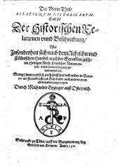 Historicae relationes: das ist der historischen Beschreybung ... was sich ... zugetragen, Band 4