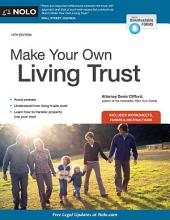 Make Your Own Living Trust: Edition 13