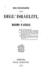 Dell'emancipazione civile degl'Israeliti