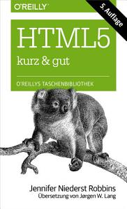 HTML5 kurz   gut PDF