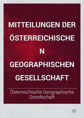 Mitteilungen der Österreichischen Geographischen Gesellschaft: Band 20