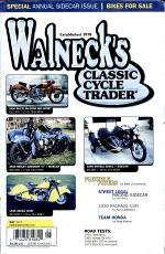 WALNECK'S CLASSIC CYCLE TRADER, MAY 2001