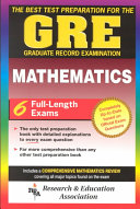 The Best Test Preparation for the GRE Graduate Record Examination in Mathematics PDF