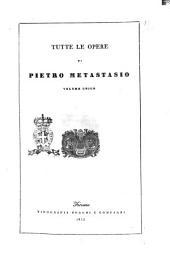 Tutte le opere di Pietro Metastasio