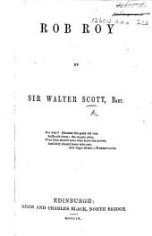 "Rob Roy, a tale. From the author of ""Waverley"" i.e. Sir Walter Scott . With illustrations"