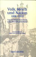 Volk  Reich und Nation PDF