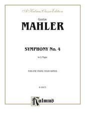 Symphony No. 4 in G Major: Piano Duo/Duet (1 Piano, 4 Hands)