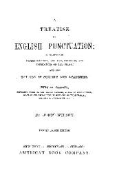 A TREATISE ON ENGLISH PUNTUATION;