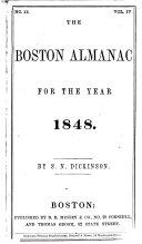 The Boston Almanac for the Year     PDF