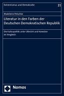 Literatur in den Farben der Deutschen Demokratischen Republik PDF
