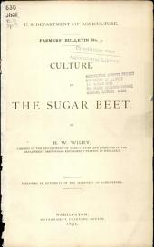 Culture of the sugar beet: Volume 1, Issue 250