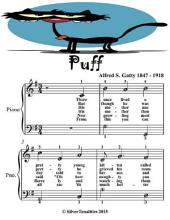 Puff - Easiest Piano Sheet Music Junior Edition