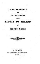 Continuazione alla storia di Milano di Pietro Verri: Volume 3