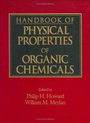 Handbook of Physical Properties of Organic Chemicals PDF