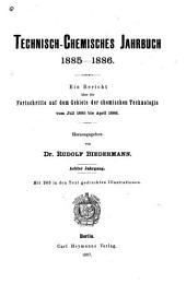 Technisch-chemisches jahrbuch: Band 8