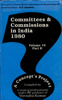 Committees and Commissions in India 1980 PDF