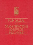 Pdr Guide to Drug Interactions Side Effects Indications 1994 PDF