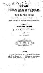 L' éducation d'Achille: comédie-vaudeville en un acte