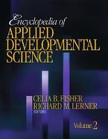 Encyclopedia of Applied Developmental Science PDF