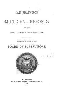 San Francisco Municipal Reports PDF