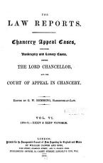 Chancery Appeal Cases PDF