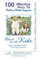 100 Effective Ways to Collect Child Support PDF