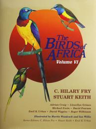 The Birds of Africa: Volume VI