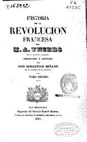 Historia de la Revolucion francesa: Volumen 10