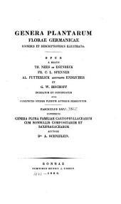 Genera plantarum florae germanicae, iconibus et descriptionibus illustrata (etc.)