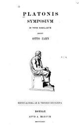 Platonis symposium, in usum scholarum