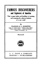 Famous Discoverers and Explorers of America