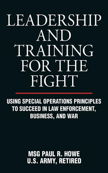 Download Leadership and Training for the Fight Book