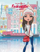 Livro para Colorir de Fashionistas para Adultos 2