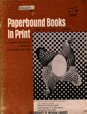 Paperbound Books in Print