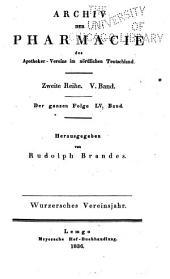 Archiv der Pharmazie und Berichte der Deutschen Pharmazeutischen Gesellschaft: Bände 55-57