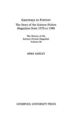The History of the Science Fiction Magazine  Gateways to forever PDF