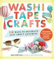Washi Tape Crafts PDF