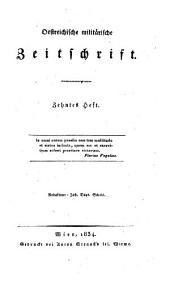 Oestreichische militärische Zeitschrift: 1834, 4