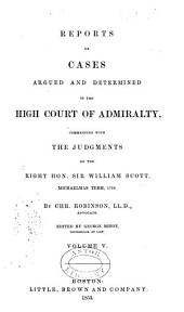 Reports of Cases Argued and Determined, 1798-1850: Volume 3