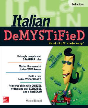 Italian DeMYSTiFieD  Second Edition PDF